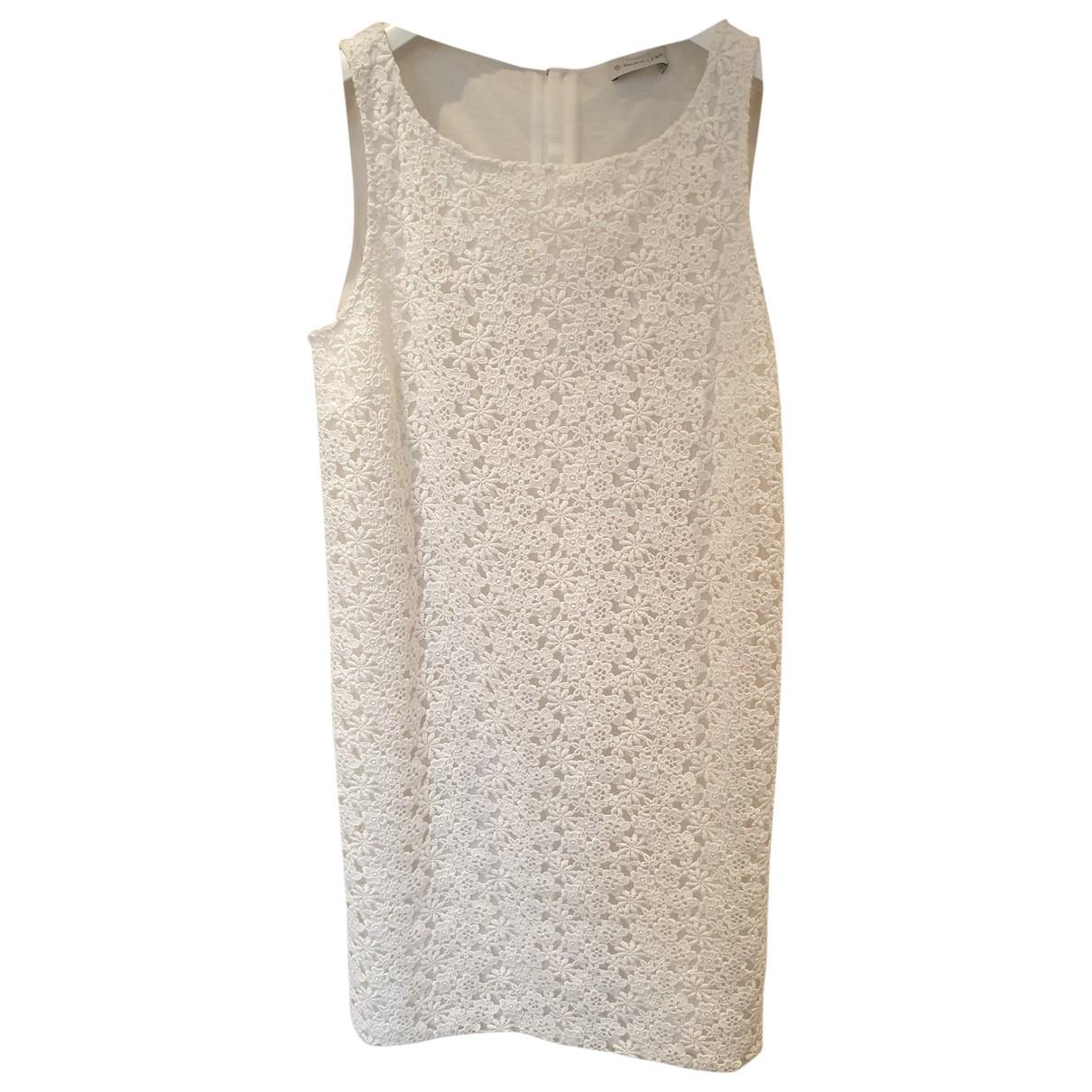 Moncler \N White dress for Women 44 IT