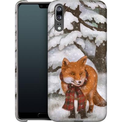 Huawei P20 Smartphone Huelle - Winter Fox von Terry Fan
