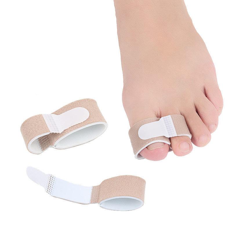 1 Pcs Thumb Valgus Corrector Anti Toes Overlapping Cloth Belt Toe Tension Correction Belt Foot Care