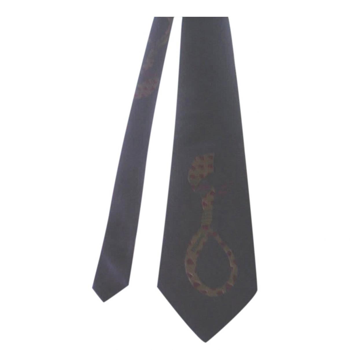 Moschino - Cravates   pour homme en soie - violet