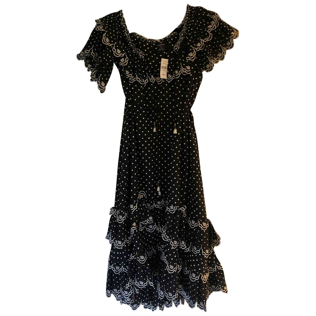 Zimmermann \N Kleid in  Schwarz Baumwolle