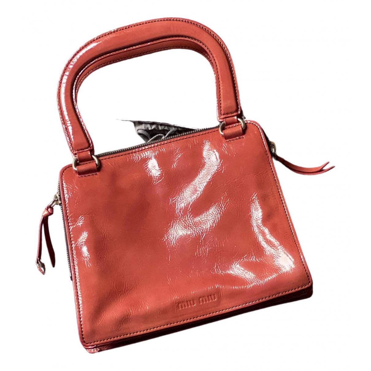 Miu Miu - Sac a main   pour femme en cuir - rouge