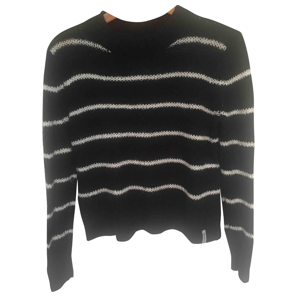 Non Signé / Unsigned \N Black Knitwear for Women XS International