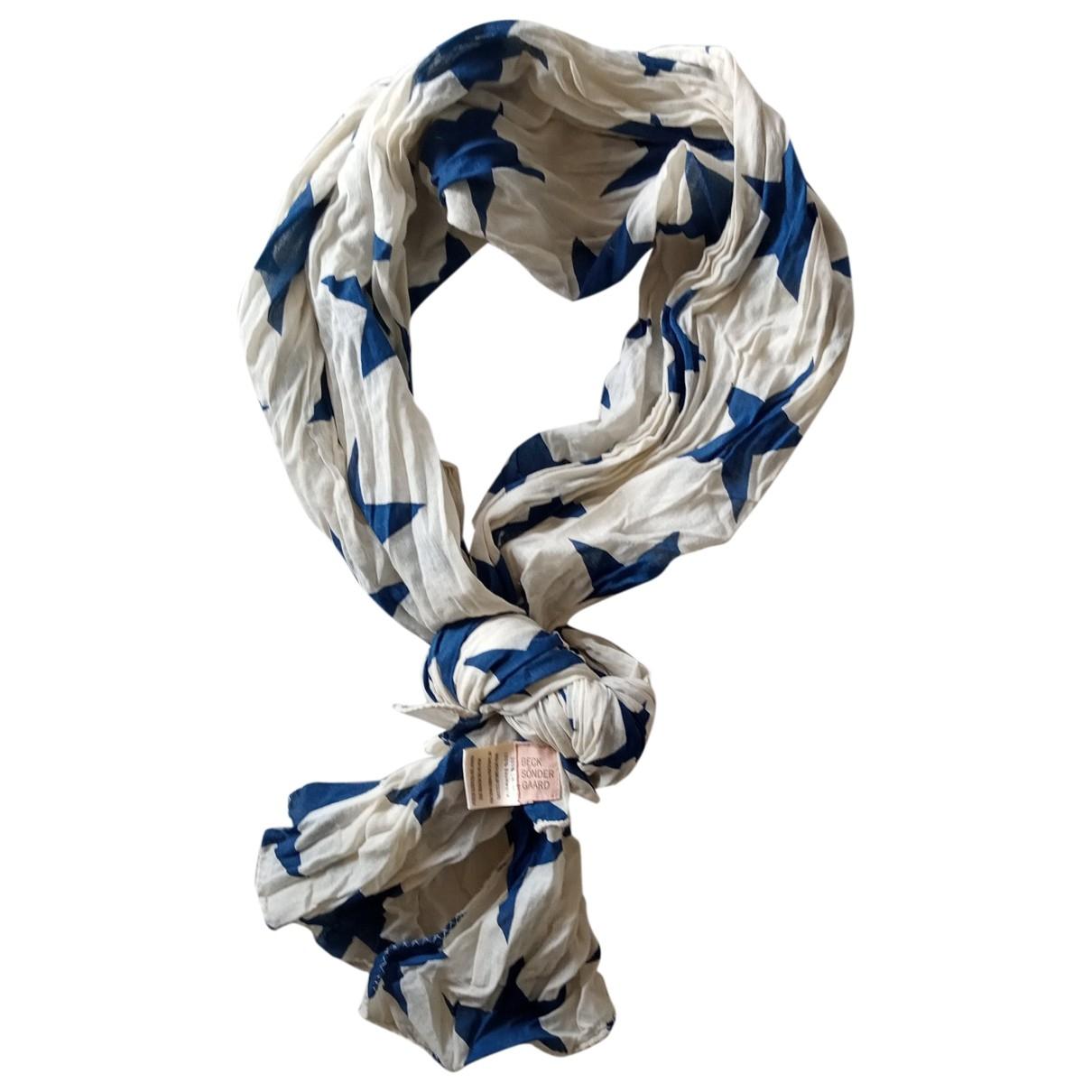 Beck Sonder Gaard - Foulard   pour femme en coton - blanc