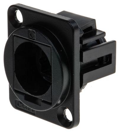RS PRO , Toslink Simplex Fibre Optic Connector, Black