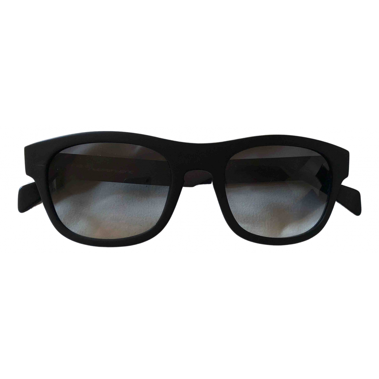 Italia Independent \N Anthracite Metal Sunglasses for Men \N