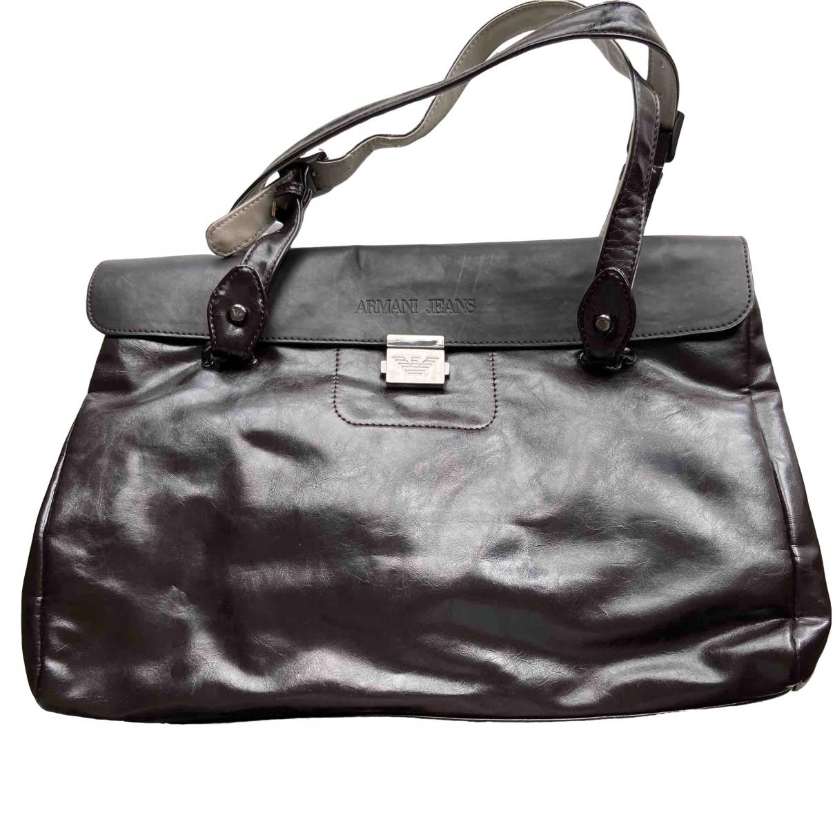 Armani Jeans \N Handtasche in  Braun Synthetik