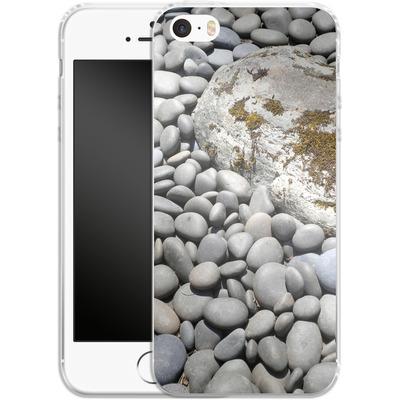 Apple iPhone SE Silikon Handyhuelle - Zen Rocks von Brent Williams