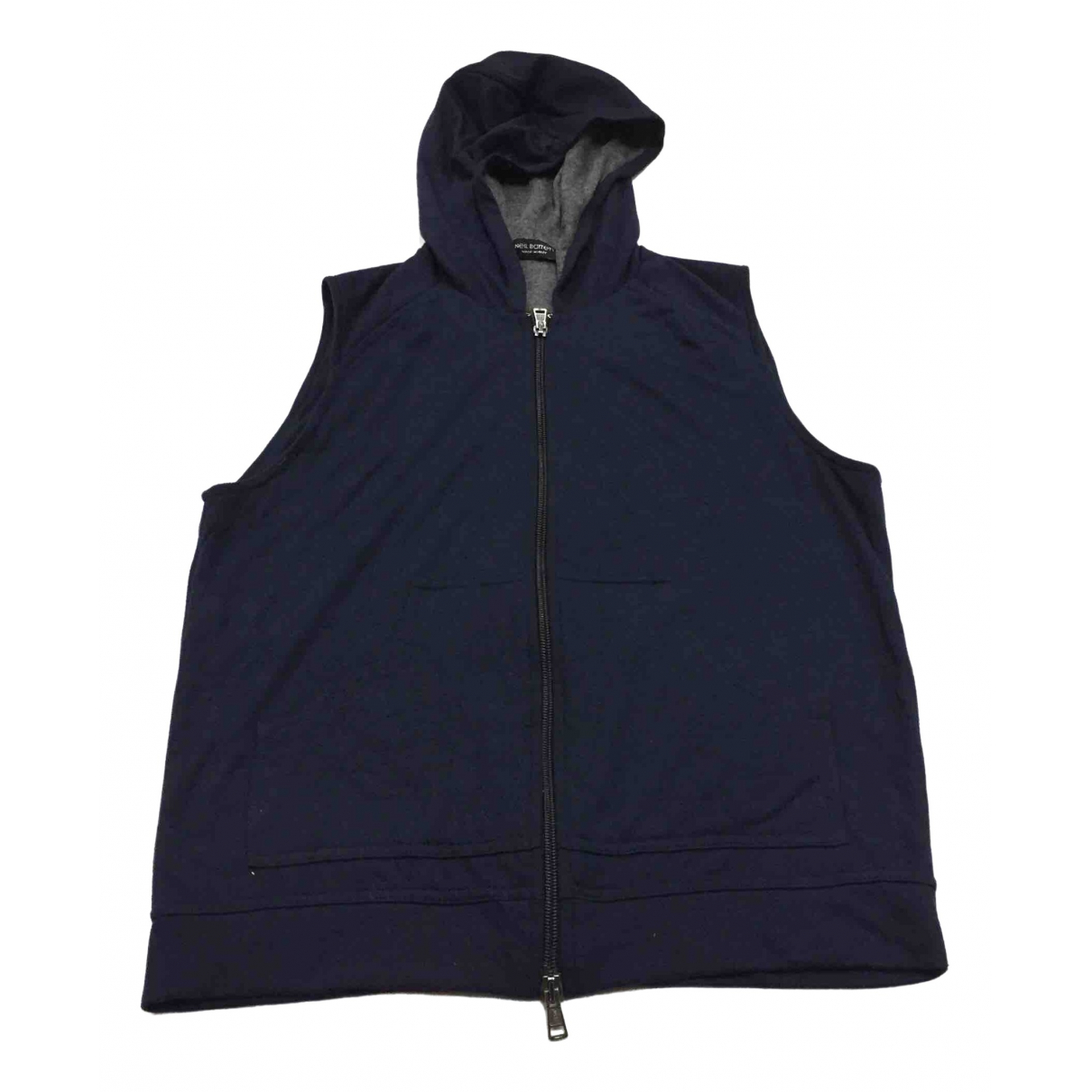 Neil Barrett - Pulls.Gilets.Sweats   pour homme en coton - bleu