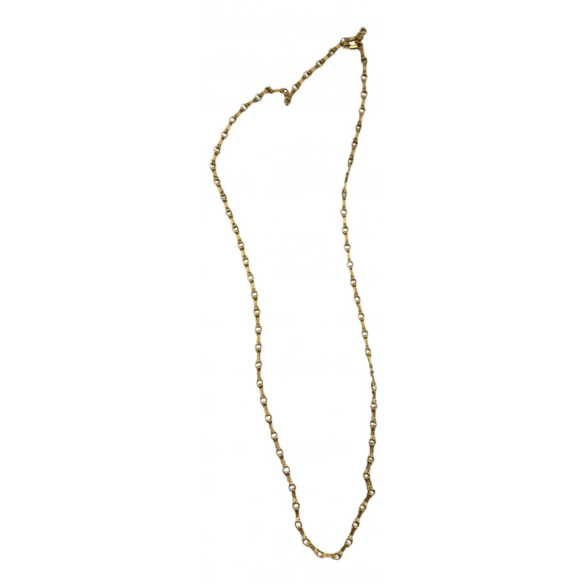 Hypso - Collier   pour femme en acier - dore
