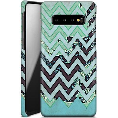 Samsung Galaxy S10 Plus Smartphone Huelle - Electric Ink von caseable Designs