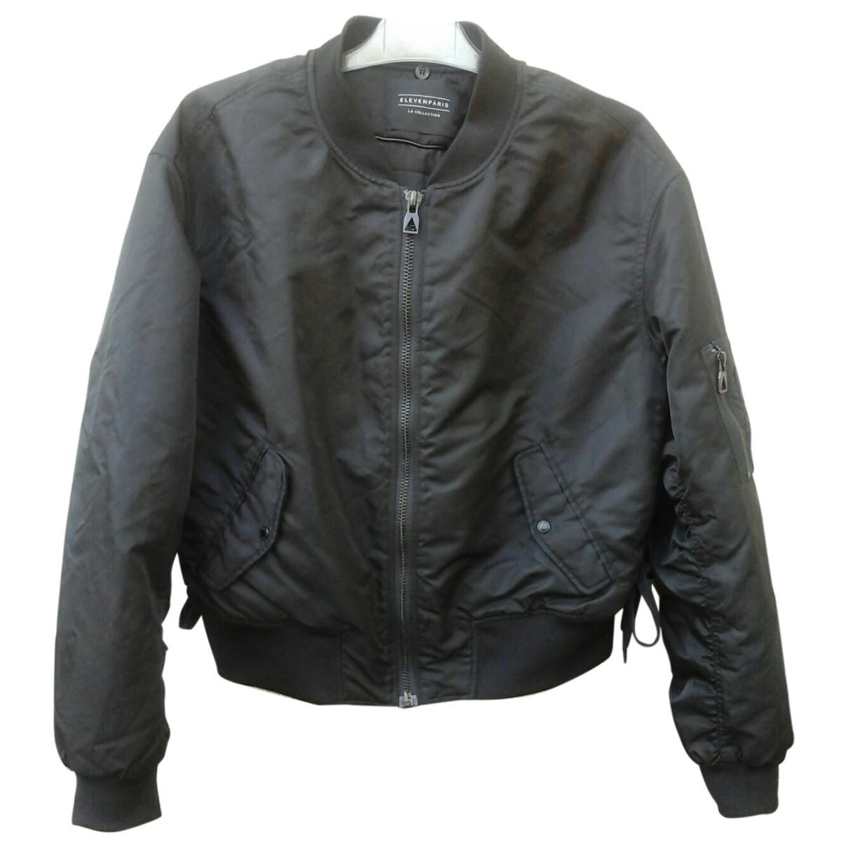 Eleven Paris \N Black Leather jacket for Women L International