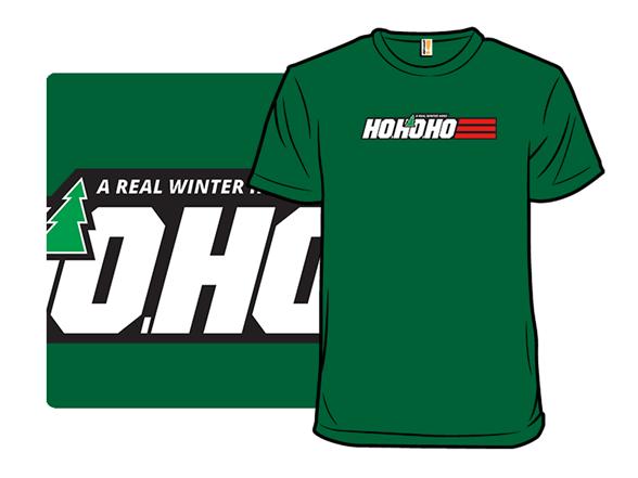 Real Winter Hero T Shirt