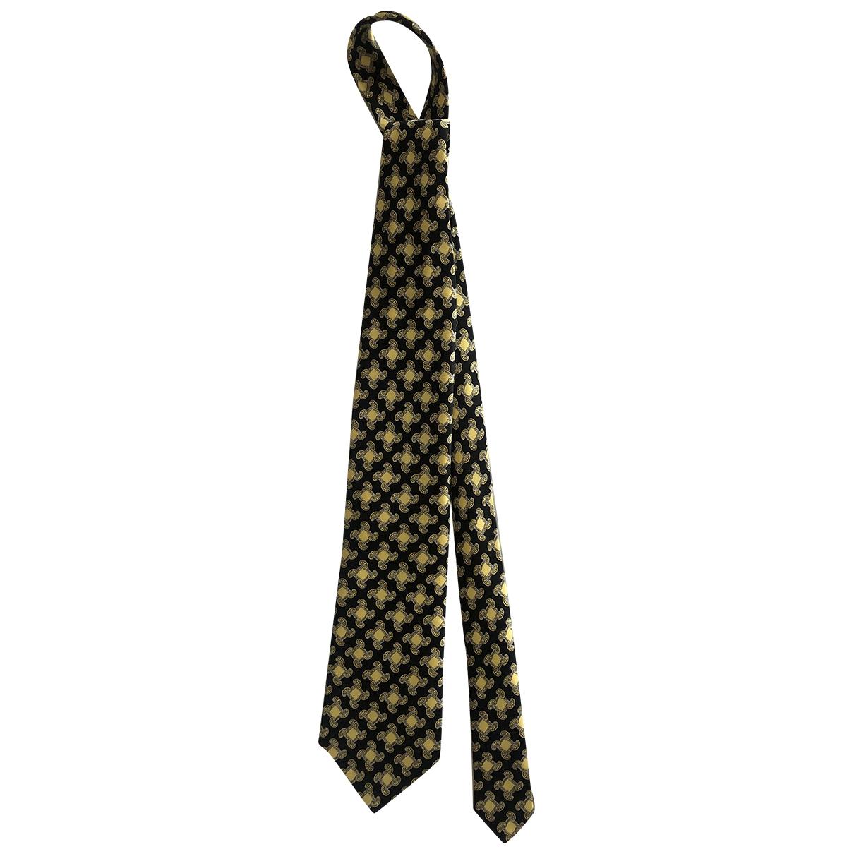 Brioni \N Krawatten in  Gelb Seide