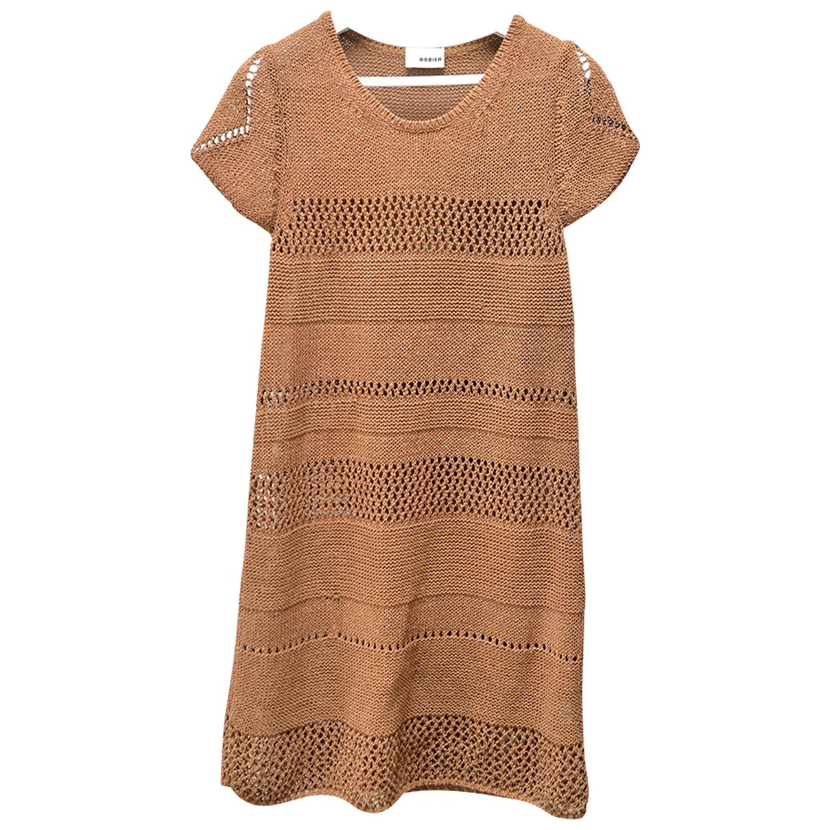 Mini vestido de Seda Rodier