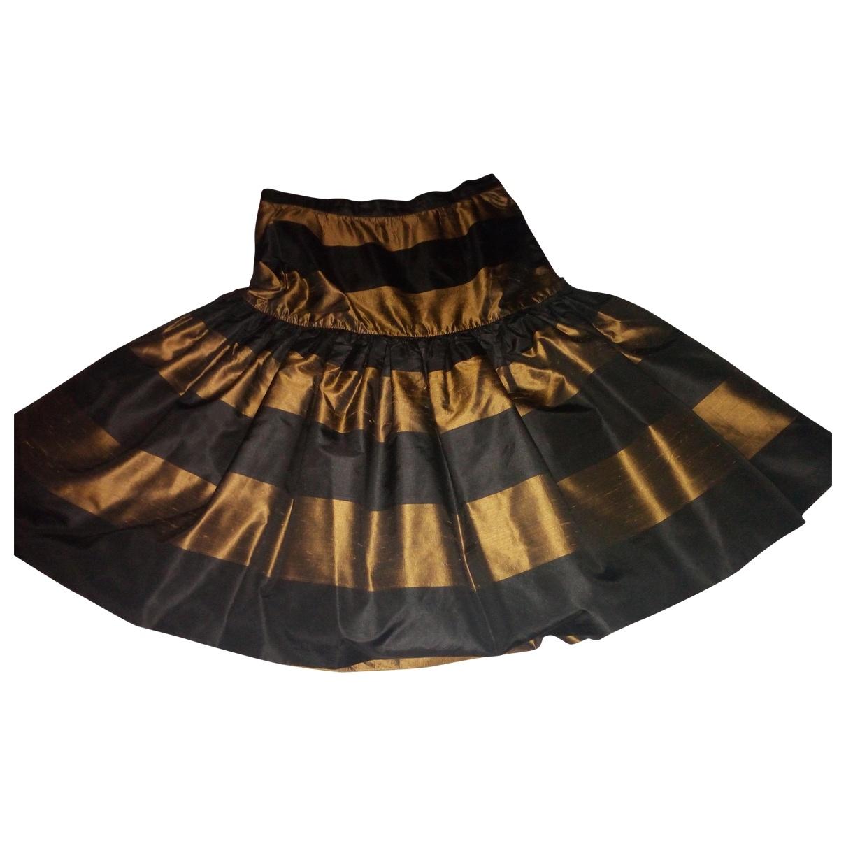 Valentino Garavani \N Multicolour Silk skirt for Women 38 IT