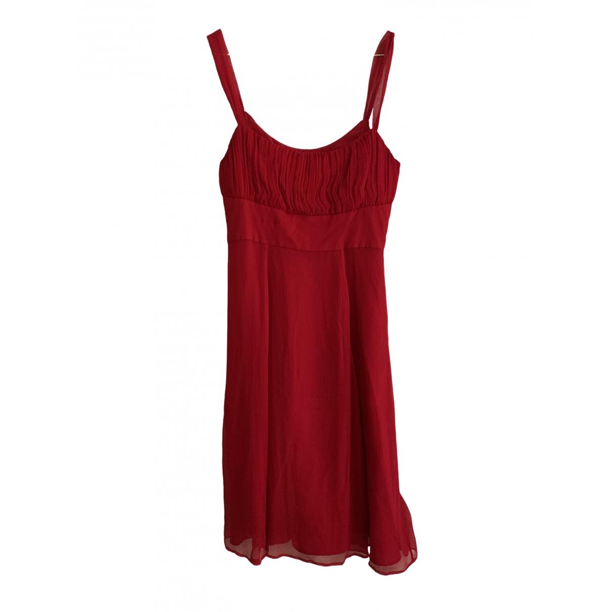 Lk Bennett \N Red Silk dress for Women 14 UK