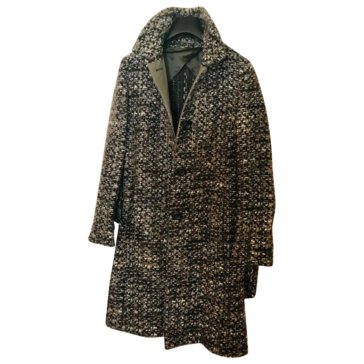 Max Mara Studio - Manteau   pour femme en laine - marron