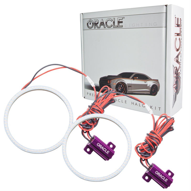Oracle Lighting 1226-051 Ford Mustang 2010-2012 ORACLE PLASMA Fog Halo Kit - Shelby/Roush Fogs