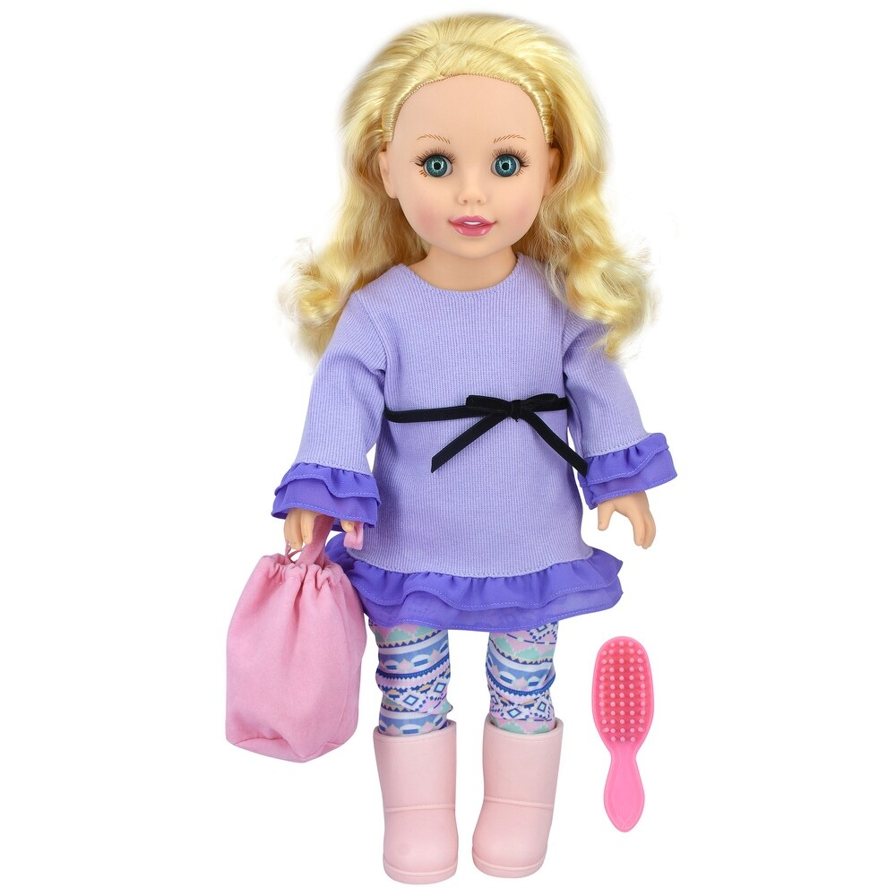 Style Girls 18 Inch Doll with Outfit, Quinn (Kids)