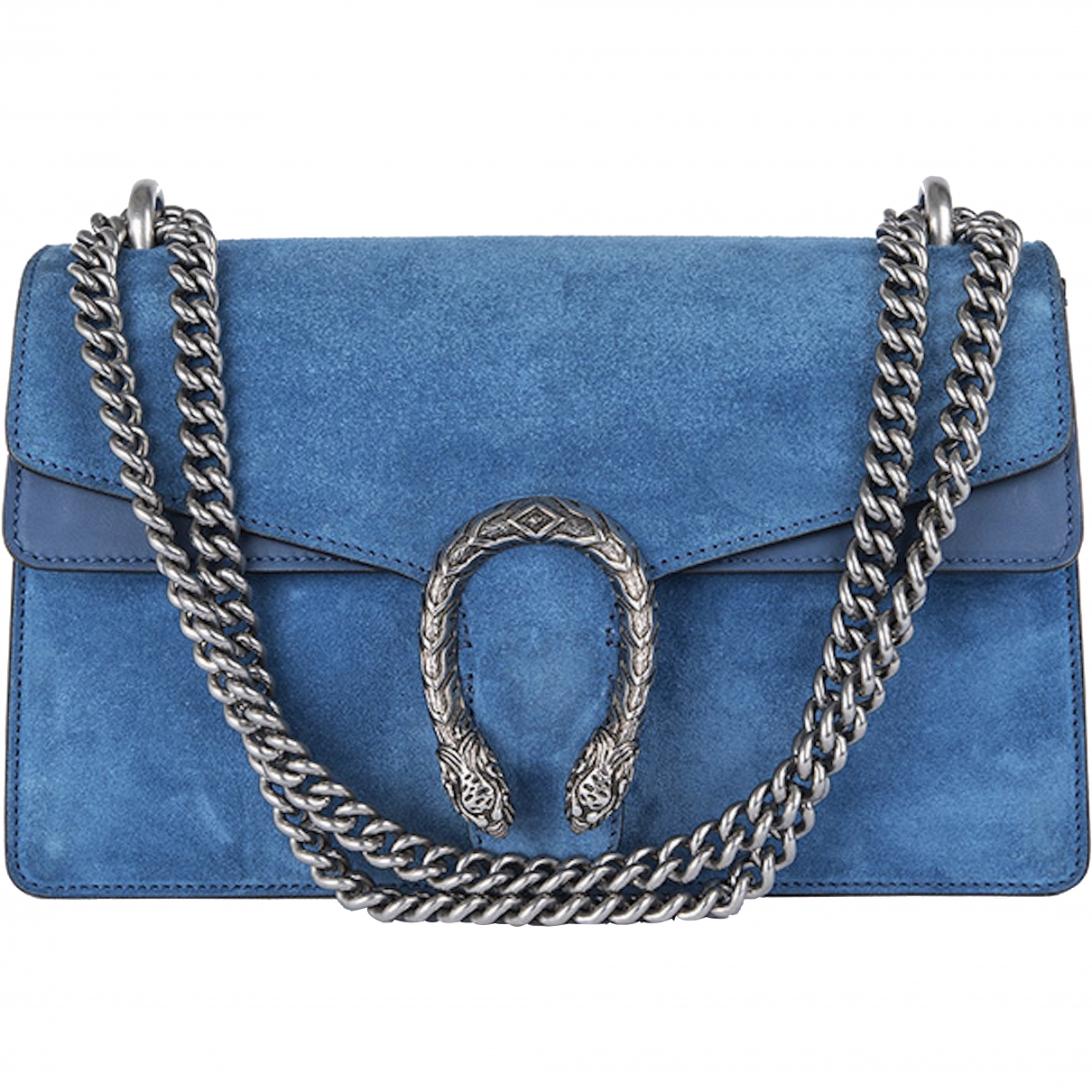 Gucci Dionysus Blue Suede handbag for Women \N