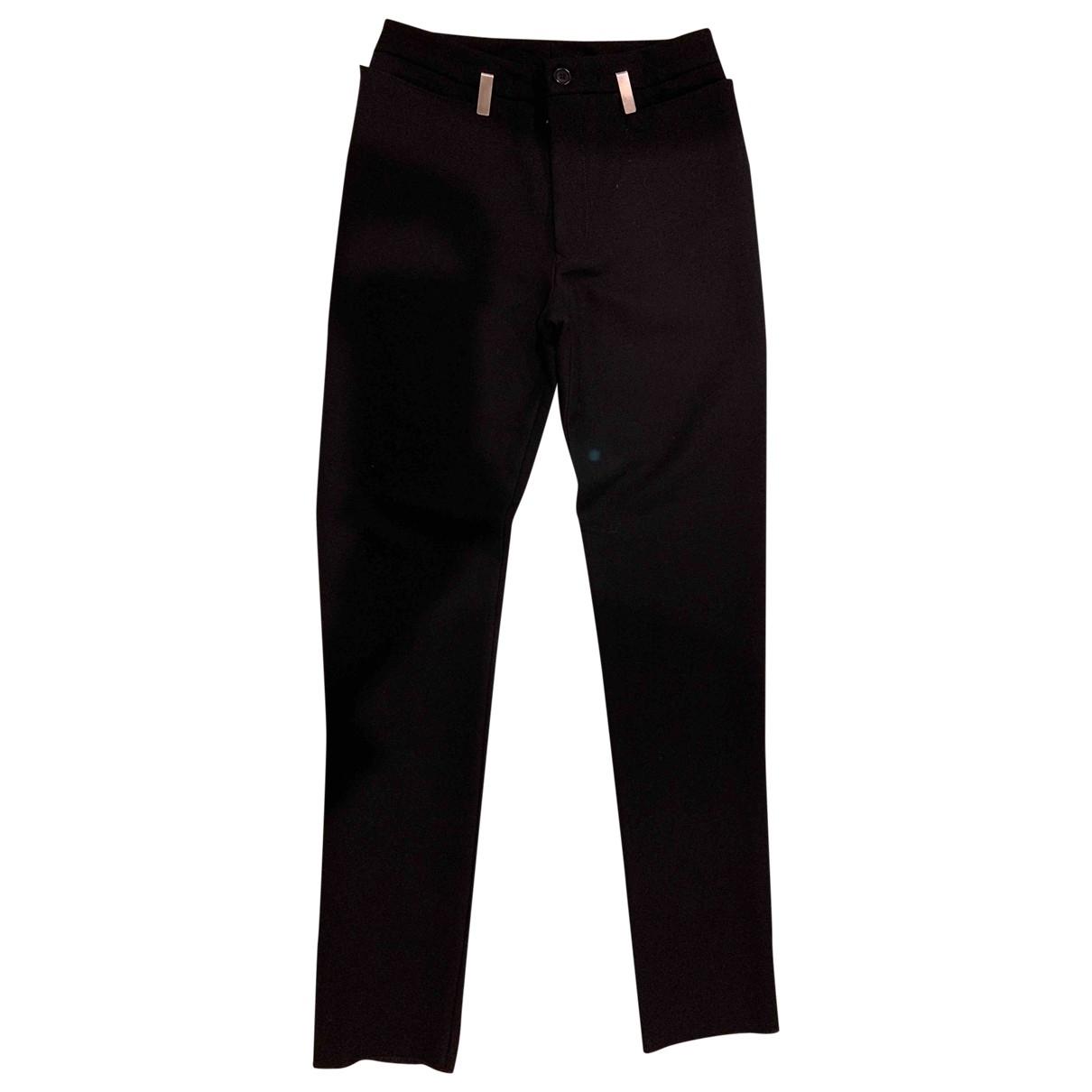 Dirk Bikkembergs - Pantalon   pour homme en laine - noir