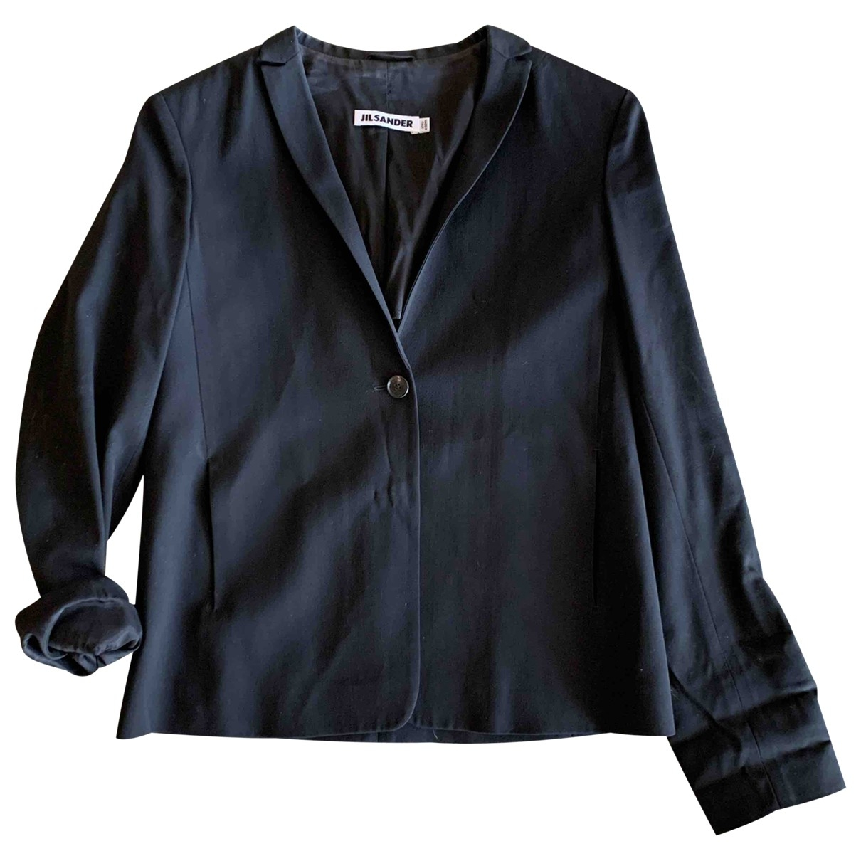 Jil Sander \N Black Wool jacket for Women 34 FR