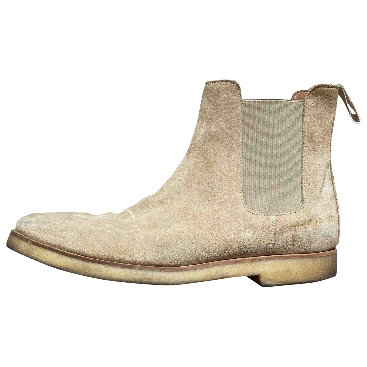 Common Projects \N Beige Suede Boots for Men 43 EU