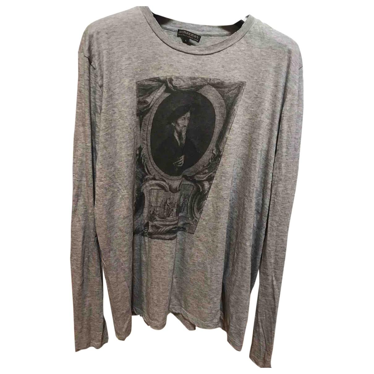 Burberry \N T-Shirts in  Grau Baumwolle