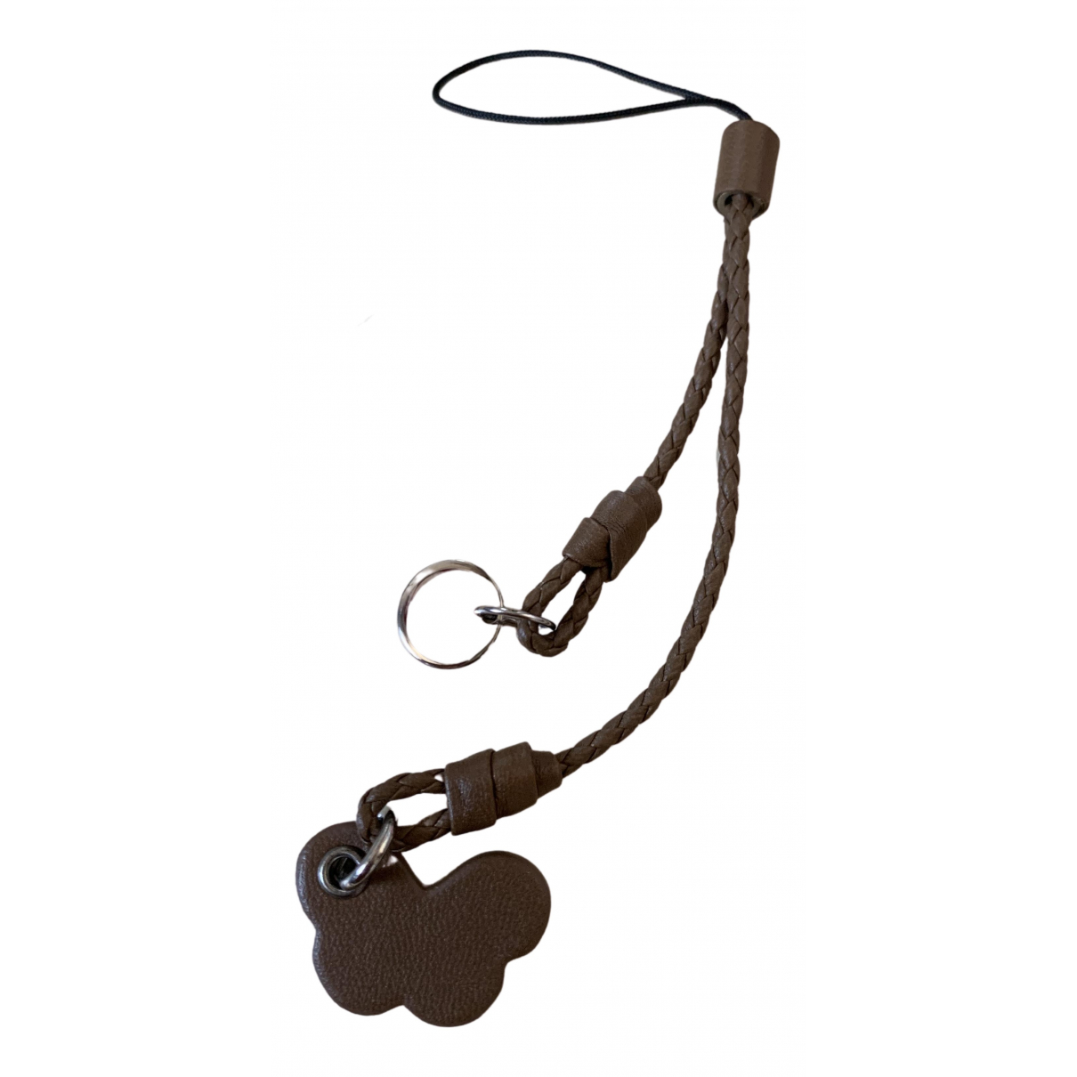 Bottega Veneta \N Brown Leather Phone charms for Women \N