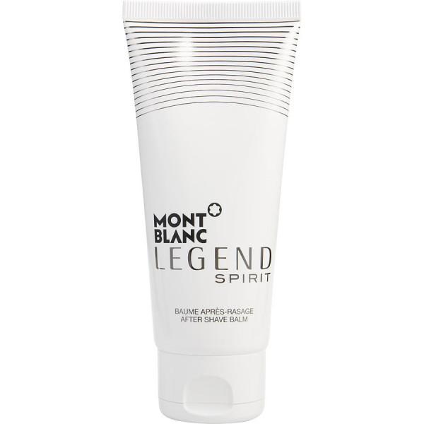 Mont Blanc - Legend Spirit : After Shave Balm 3.4 Oz / 100 ml