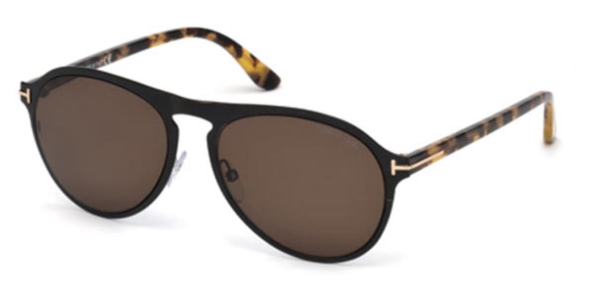 Tom Ford FT0525 01E Men's Sunglasses Black Size 56
