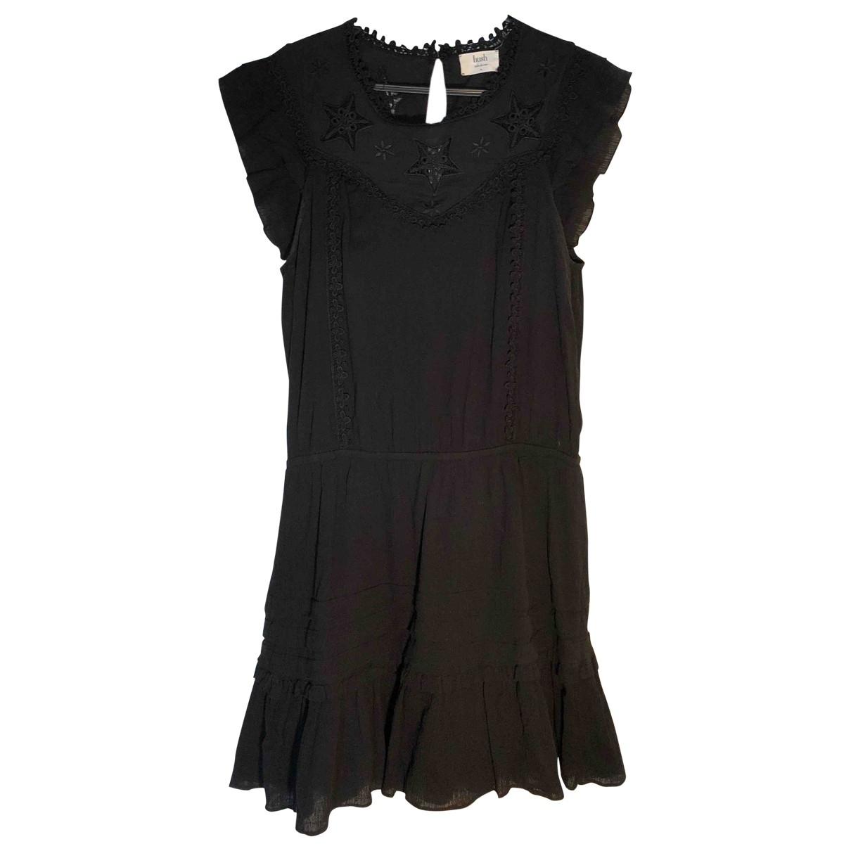 Non Signé / Unsigned \N Black Cotton dress for Women 42 FR
