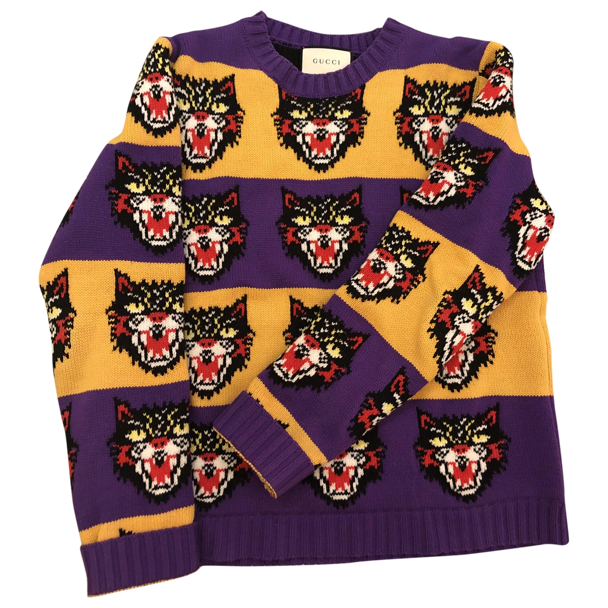 Gucci \N Multicolour Cotton Knitwear & Sweatshirts for Men L International