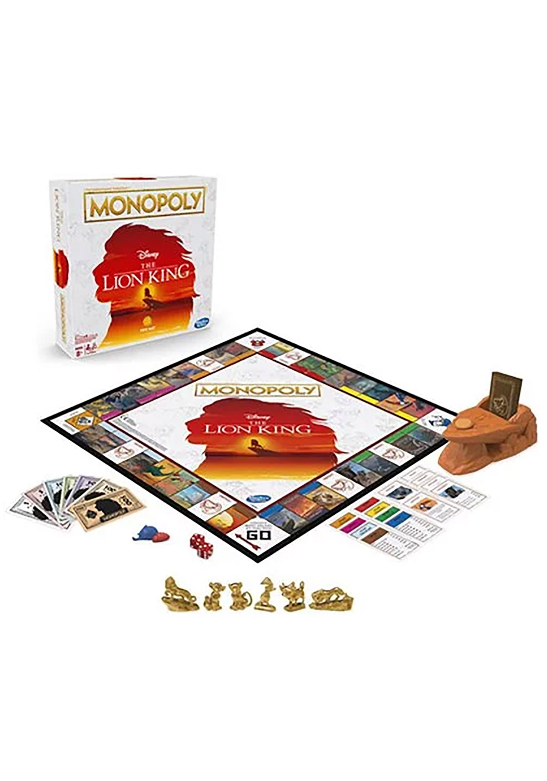 Monopoly Game: The Lion King Edition