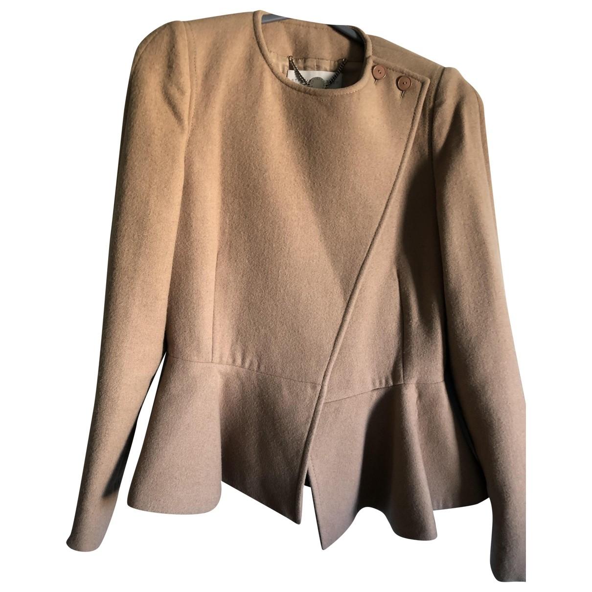 Stella Mccartney \N Camel Wool jacket for Women 40 FR