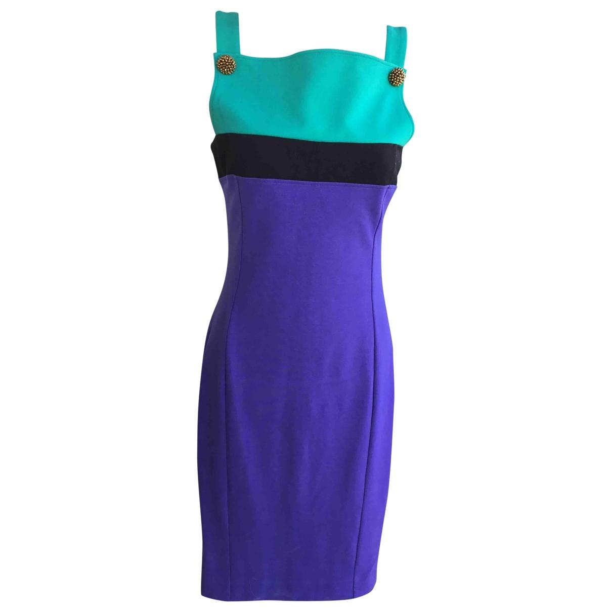 Class Cavalli \N Kleid in  Lila Polyester
