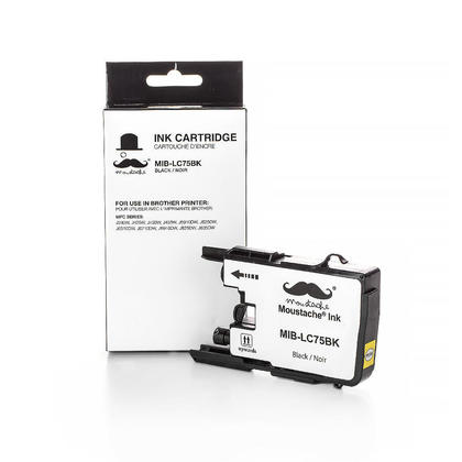 Compatible Brother MFC-J825DW Black Ink Cartridge by Moustache, High Yield