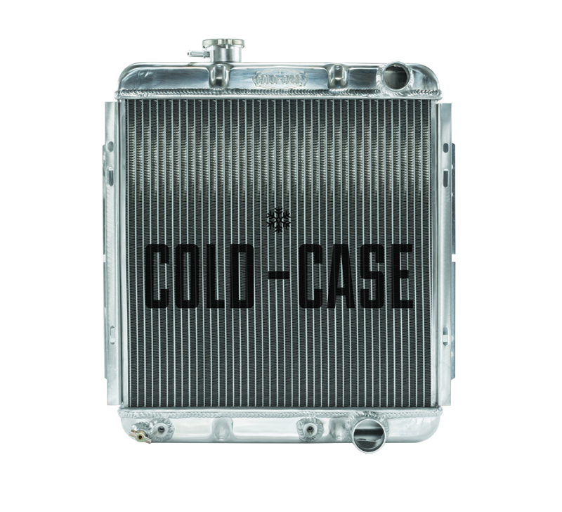 65-66 Ford Mustang 289 Aluminum Performance Radiator AT Cold Case Radiators FOM564A