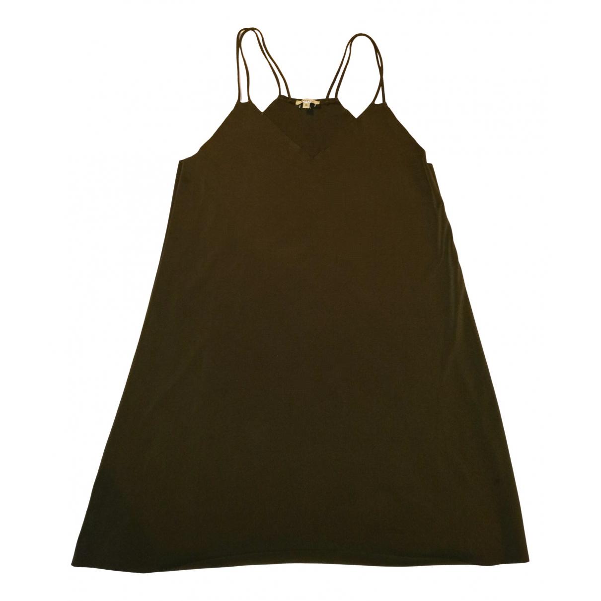 Brandy Melville \N Kleid in  Gruen Polyester