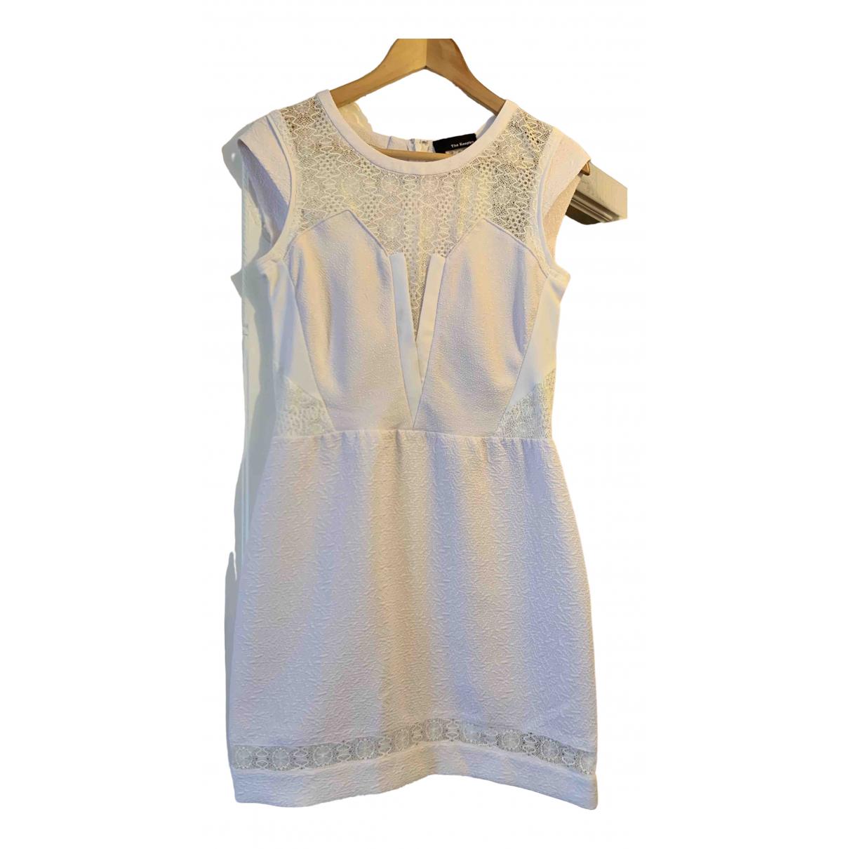 The Kooples \N Kleid in  Weiss Baumwolle