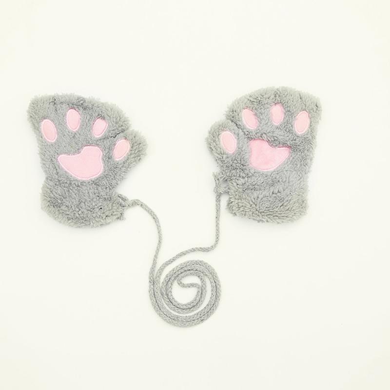 Ericdress Bear Cutie Womens Gloves