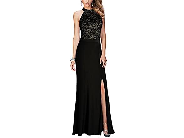 Rephyllis Women's Halter Maxi Long Dress