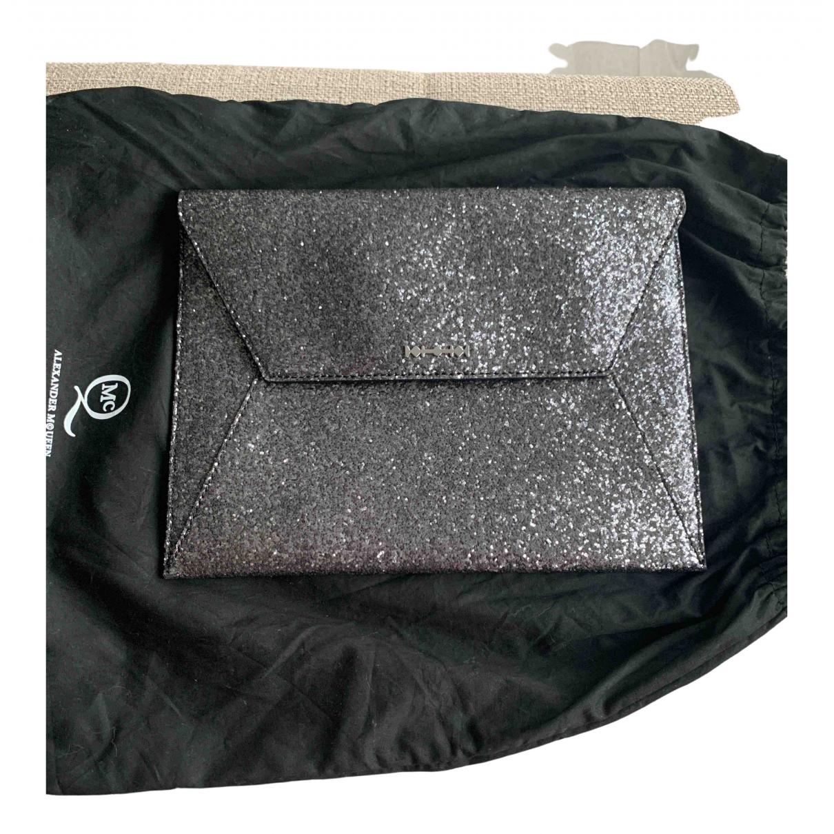 Alexander Mcqueen \N Silver Glitter Clutch bag for Women \N