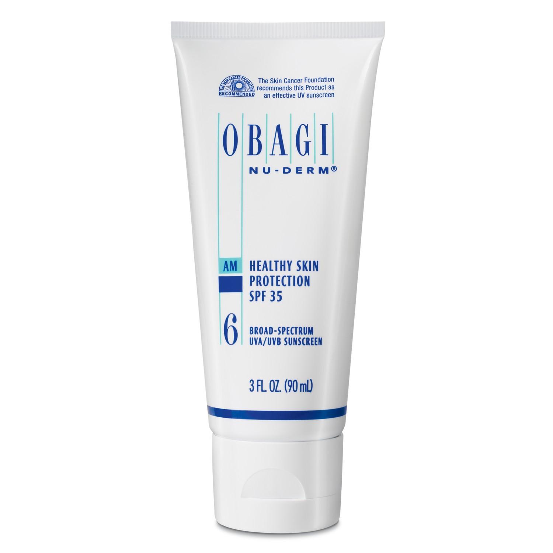 OBAGI NU-DERM #6 HEALTHY SKIN PROTECTION SPF 35 (3 oz / 85 g)