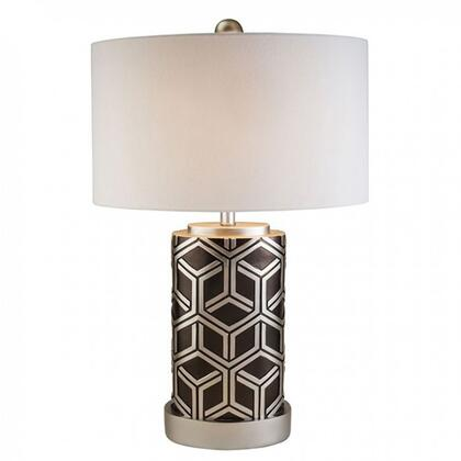 BM131447 Well-designed Polyresin Table Lamp  Silver And