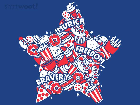 Murican Doodle T Shirt