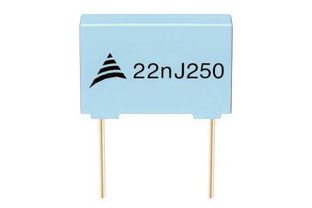 EPCOS 470nF Polyester Capacitor PET 63 V ac, 100 V dc ±5%, Through Hole (1000)