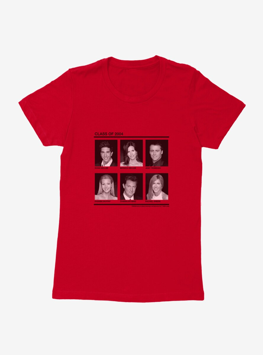 Friends Class Of 2004 Womens T-Shirt