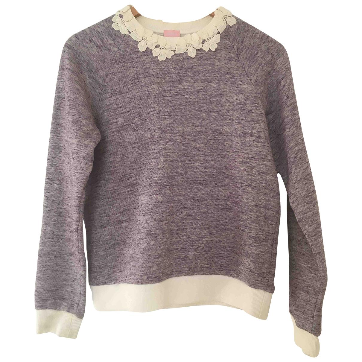 Giamba \N Purple Cotton Knitwear for Women 40 IT